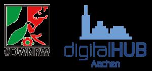 Logo digitalHUB Aachen DWNRW