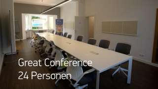 Great Conference 24 Personen
