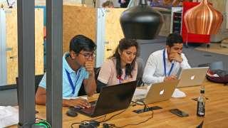 Ideathon in Kooperation mit Ericsson Eurolab und dem digitalHUB Aachen