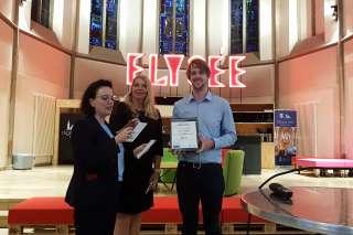 Verleihung best pitch moqo car e.V. meets digitalHUB Aachen