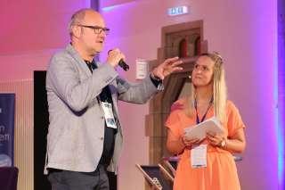 Markus Bau und Nina Leßenich Foto: Thomas Langens