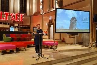 Andera Gadeib Die Zukunft ist menschlich im digitalHUB Aachen