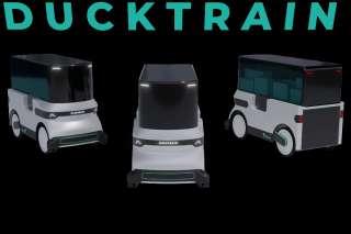 Ducktrain Mockup mit Logo