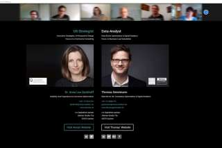 Dr. Anna Lea Dyckhoff und Thomas Gerstmann Workshop Online-Marketing