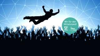 Kleiner Beitrag beim digitalhUB Aachen