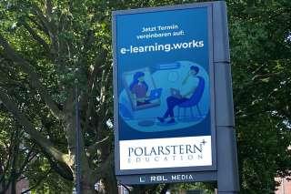 Digital City Flag RBL MEDIA Werbeclip digitalHUB Polarstern
