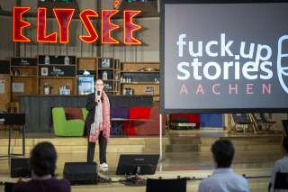 Iris Wilhelmi Fuck up Stories Aachen Startup Edition