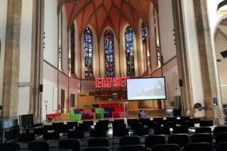 Kirchenschiff in der digitalCHURCH