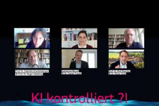 Podiumsdiskussion KI kontrolliert ?! im digitalHUB Aachen